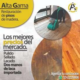 Mantenimiento especializado de pisos de madera, al mejor precio garantizado.