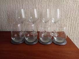 Juego de copas y vasos (ojo negociable acepto cambio ofrezca)