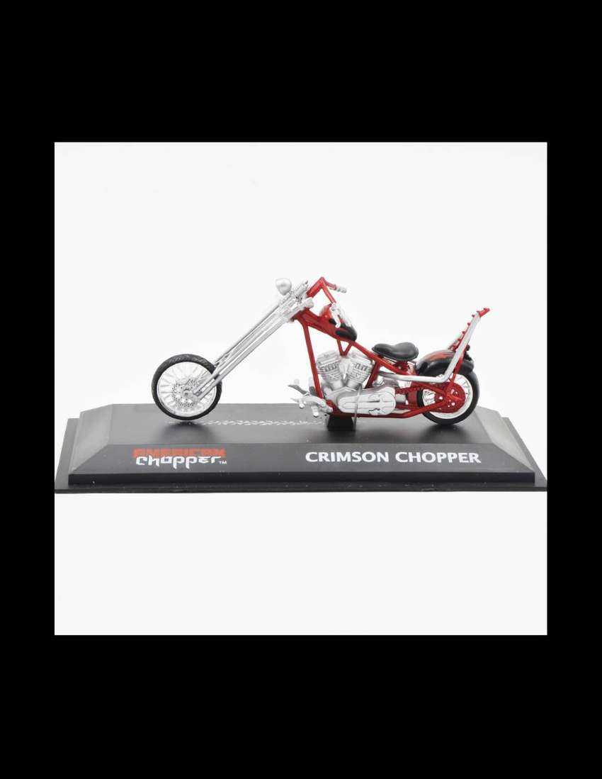 Crimson Chopper American Rojo Escala