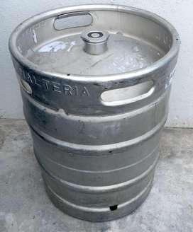 barril de cerveza quilmes vacio - conector G - 50 lts