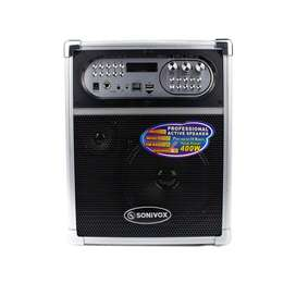 Cabina Alto Parlante Portatil 400w Bluetooth, Radio Fm