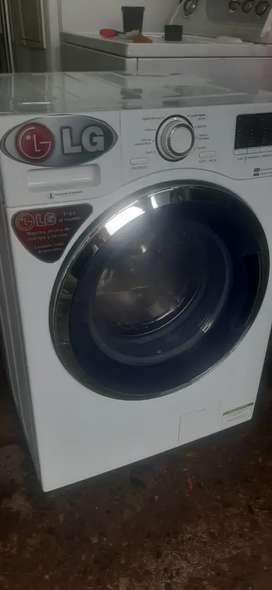 Lavadora secadora LG con garantia