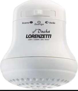 Ducha electrica Lorenzetti nueva sin uso