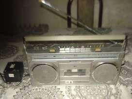 Radiograbador Toshiba Rt 700sw Vintage Funcionando No Envio