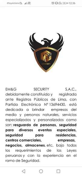 EM & G Security SAC Empresa de seguridad y servicios generales