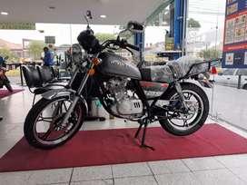 MOTOCICLETA SUZUKI GN125 MODELO 2022 EURO3,