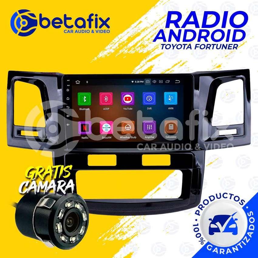 RADIO ANDROID PARA TOYOTA FORTUNER 2011-UP GPS BT USB WIFI BETAFIX DESDE 0