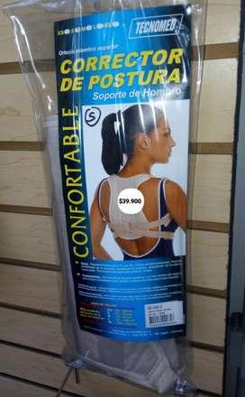 CORRECTOR DE POSTURA UNISEX