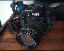Camara 70d Canon + Lente 18- 135 /POR URGENCIA