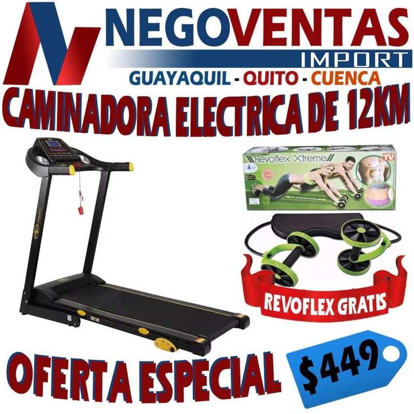 CAMINADORA ELECTRICA ATLETISMO DEPORTES 12 KM INCLUYE GRATIS UN REVOFLEX 0