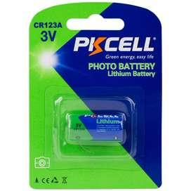 Pila Bateria Marca Pkcell 123a Cr123a 3v Litio Camaras