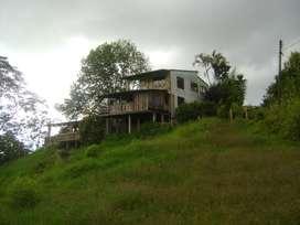 Arriendo casa campestre con terreno