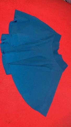 Falda Azul rey