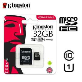 Micro SD 32 gigas