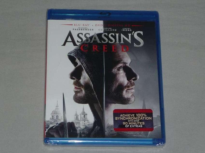 Assassin´s Creed Blu Ray + Dvd + Digital - Edición Importada! 0
