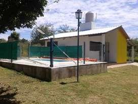 Alquiler temporario cabaña en Potrero de Garay para cinco personas.
