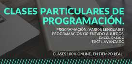 CLASES PARTICULARES DE PROGRAMACIÓN