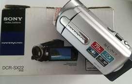 Video cámara Sony DCR-SX22