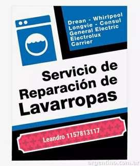 Técnico en reparación de lavarropas... consultar