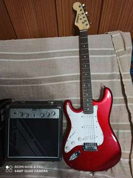 Ofertonnn a estrenar guitarra y amplif PERMUTO