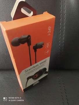 Audífonos manos libres marca JBL j-349 con micrófono, buen sonido