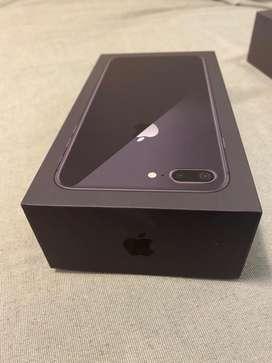 Caja iPhone 8 Plus Negro