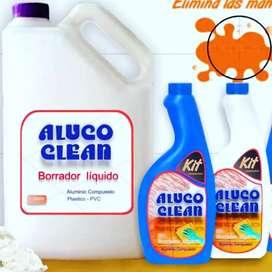 Producto limpiador de alucobond