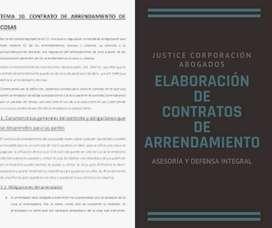 Abogados Justice Corp. ELABORACIÓN DE CONTRATO DE ARRENDAMIENTO