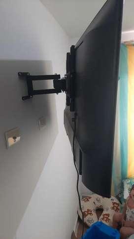 Bases para tv instalada