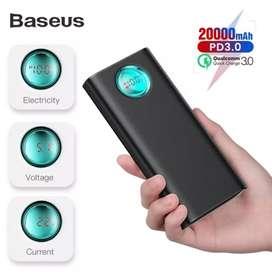 Batería portátil Baseus 20000 Mah 3.0 a 18 w