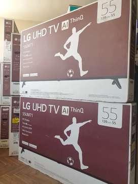 "Televisor LG 4K 55"" NUEVO CON GARANTIA"