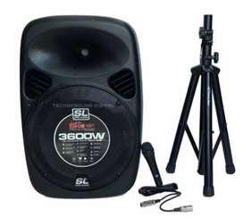 Cabina Activa Profesional De 15 Pro Audio Original 120w Rms