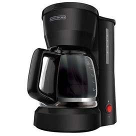 Cafetera Black Decker 5 Tazas Filtro permamente