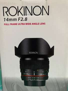 Rokinon 14 mm f2.8