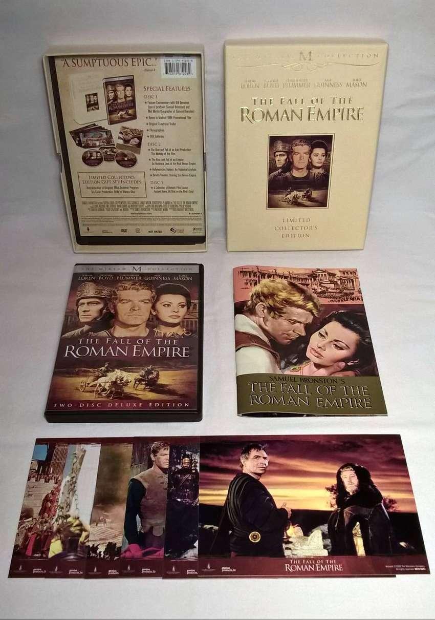 The Fall Of The Roman Empire - La caída del imperio romano. Edición de lujo de 3 DVDs para coleccionistas
