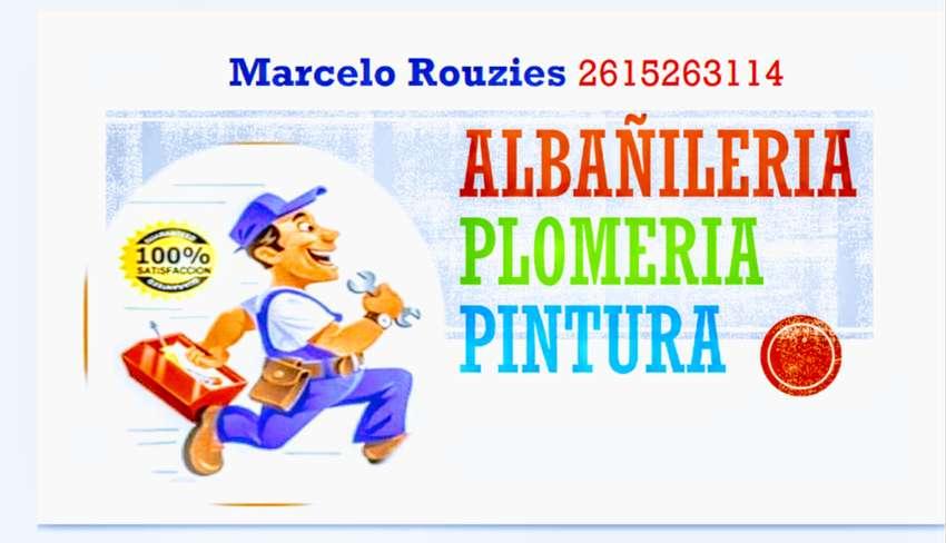 Realizó reparaciones de albañilería como también pintura y plomería 0