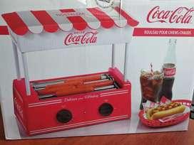 Asador de salchichas Coca-Cola
