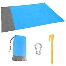 Manta impermeable y resistente de playa, camping, medidas de 200 x 140 cm