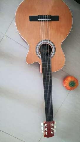 Guitarra nueva más estuche
