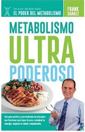 Libro Metabolismo Ultra Poderoso de Frank Suárez  en digital