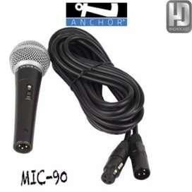 Microfono alambrico cod am 48757