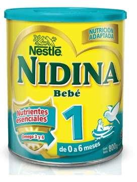 Vendo leche nidina 1 en polvo