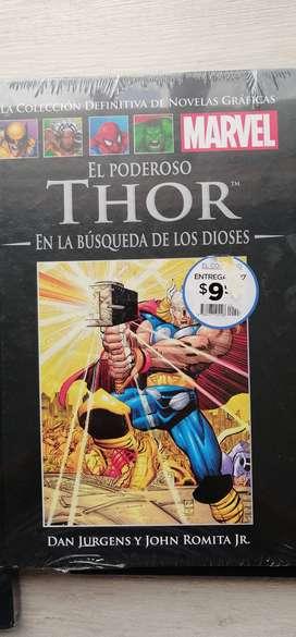 Libros cómics Marvel full color