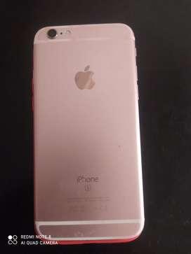 Vendo Iphone 6S 450.000 negociable