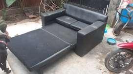 Sofa cama negro