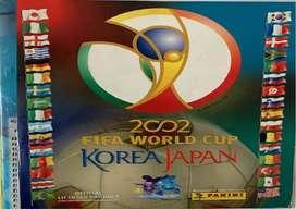 Álbum Panini Mundial de Futbol Korea - Japón 2002. Completo