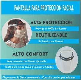 Vendo pantalla para protección facial
