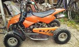 mini cuatriciclo 50 cc 2 tiempos para niños