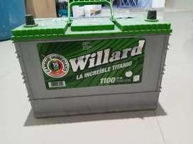 Vendo batería Willard 1100 amperios 12 voltios