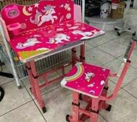 Mesa + silla regulable